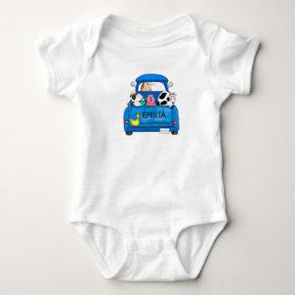My Big Blue Truck Baby Bodysuit
