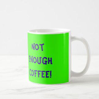 My big gripe is... Not Enough Coffee! Basic White Mug