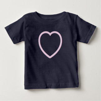 """MY BIG PINK HEART"" BABY T-Shirt"