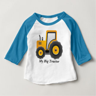 MY Big Tractor  Sleeve Raglan T-Shirt
