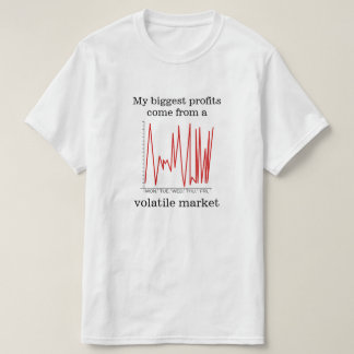 My biggest profits come from a volatile market T-Shirt