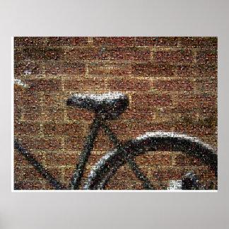 my bike of bikes. poster