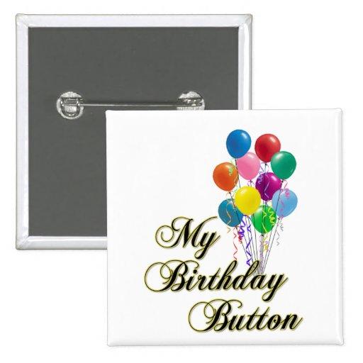 My Birthday Button