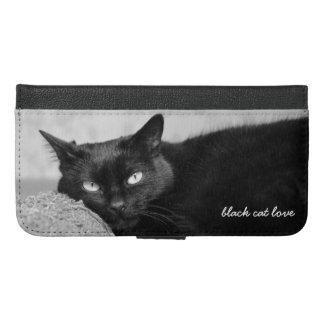 My Black Cat Photo iPhone Wallet Case