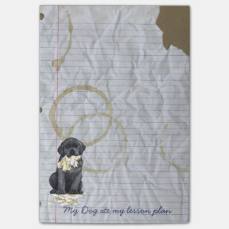 My Black Lab Ate my Lesson Plan Post-it® Notes