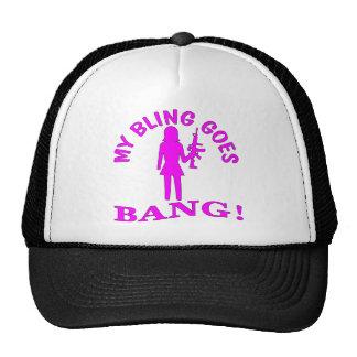 My Bling Goes BANG Cap