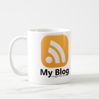 My Blog RSS Logo Coffee Mug