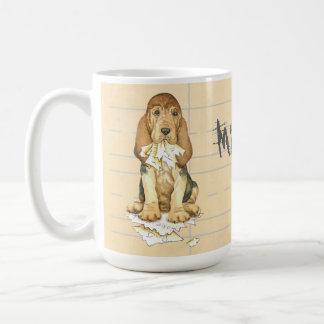 My Bloodhound Ate my Homework Coffee Mug