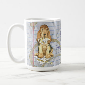 My Bloodhound Ate my Lesson Plan Coffee Mug