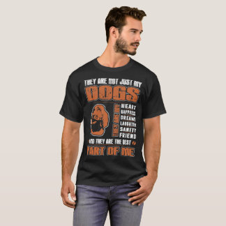 My Bloodhound Dog They Are The Best Part Of Me Tee