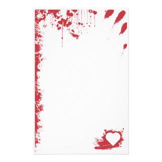 My bloody Valentine Custom Stationery