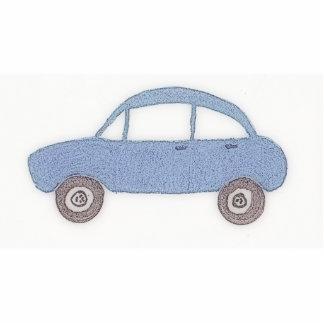 My Blue Car Photo Sculpture Decoration