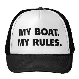 My Boat. My Rules. Cap