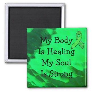 My Body is Healing, Lyme Disease Affirmation Magnet