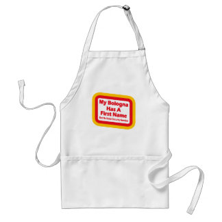 My bologna has a first name apron