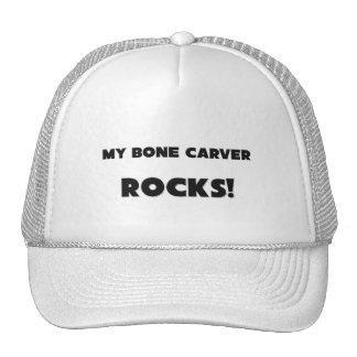 MY Bone Carver ROCKS Mesh Hats