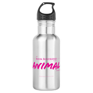 My book boyfriends is an animal 532 ml water bottle