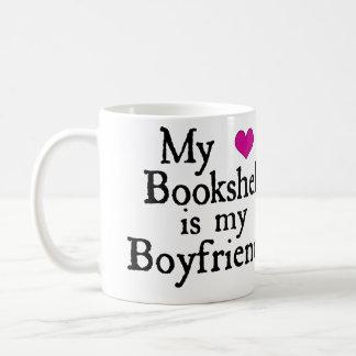 My Bookshelf is my Boyfriend Mug