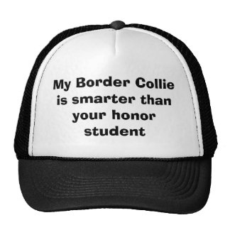 My Border Collie is smarter than your honor stu... Cap