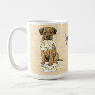 My Border Terrier Ate My Homework Coffee Mug
