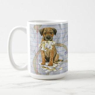 My Border Terrier Ate My Lesson Plan Coffee Mug