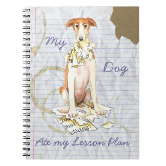 My Borzoi Ate My Lesson Plan Notebooks
