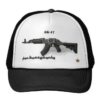 My Boss AK - 47 for your face. Trucker Hats