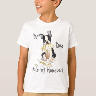 My Boston Terrier Ate My Homework T-Shirt