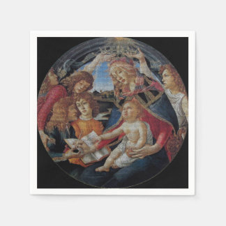 My Boticelli Serie : Madonna del Magnificat Disposable Serviettes