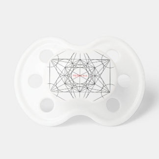 my box is a... Metatron's Cube Baby Pacifier