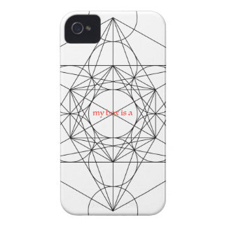 my box is a... Metatron's Cube Case-Mate iPhone 4 Case