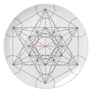 my box is a... Metatron's Cube Plate