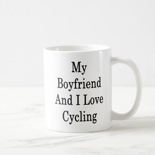 My Boyfriend And I Love Cycling Coffee Mug