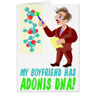 My Boyfriend has Adonis DNA Card