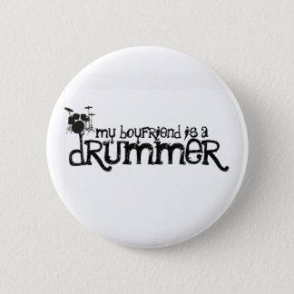 My Boyfriend is a Drummer 6 Cm Round Badge