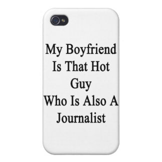 My Boyfriend Is That Hot Guy Who Is Also A Journal iPhone 4/4S Cases
