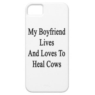 My Boyfriend Lives And Loves To Heal Cows iPhone 5 Cases