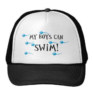 my boys can swim cap
