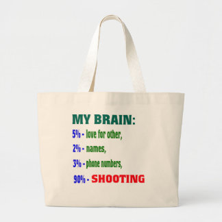 My Brain 90 % Shooting. Bags