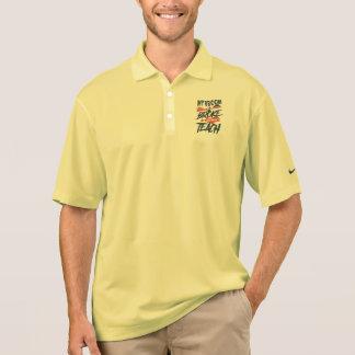 My Broom Broke So Now I Teach Polo Shirt