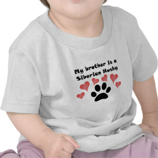 My Brother Is A Siberian Husky T-shirt