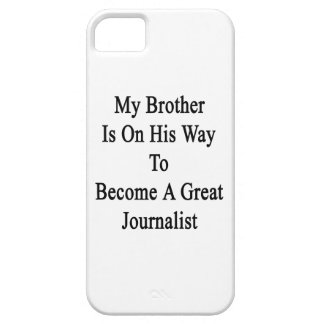 My Brother Is On His Way To Become A Great Journal iPhone 5/5S Cover