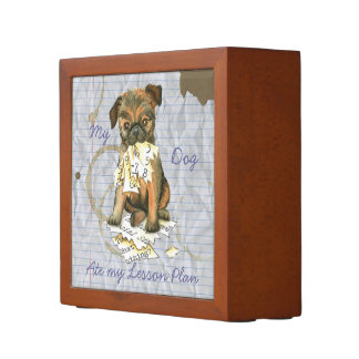 My Brussels Griffon Ate My Lesson Plan Desk Organiser