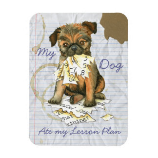 My Brussels Griffon Ate My Lesson Plan Magnet