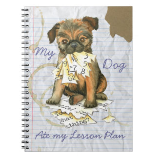 My Brussels Griffon Ate My Lesson Plan Notebooks