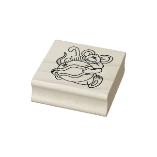My Bulb Christmas Rubber Stamp