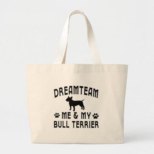 My Bull Terrier Dog Tote Bag