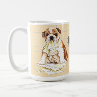 My Bulldog Ate My Homework Coffee Mug