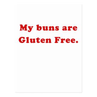 My Buns are Gluten Free Postcard