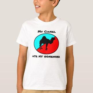 My Camel ate my homework T-shirts